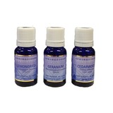 Springfields Essential Oils 3 oils (Lemongrass, Geranium &Cedarwood) 3 x 11ml
