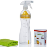 FULL CIRCLE Come Clean, Natural Cleaning Solutions  Spray Bottle and DIY Cleaning Recipe Book