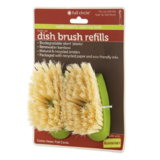 Full Circle Dish Brush Refill Set 2pce: Suds Up Green