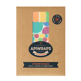 Apiwraps Beeswax Wraps - KITCHEN BASICS PACK