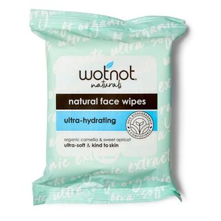 WOTNOT Facial wipes for oily combination skin 25pk  (20 x 18cm each)