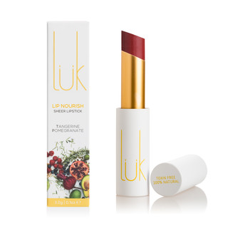 Lük Beautifood Tangerine Pomegranate Lip Nourish