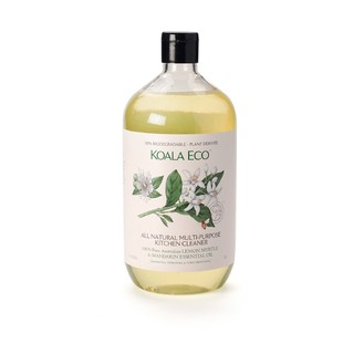 KOALA ECO 1L REFILL - All Natural Multi-Purpose Kitchen Cleaner with Pure Australian LEMON MYRTLE and MANDARIN Essential Oil