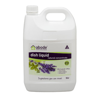 ABODE Dishwashing Liquid Lavender and Mint REFILL 5L